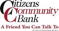 Citizens Community Bank - A Friend You Can Talk To - Division of Glacier Bank logo